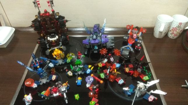 LEGO Mega Zestaw 12 zestawów Lego Nexo Knights