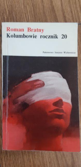 Książka o działaniach wojennych Kolumbowie rocznik 20