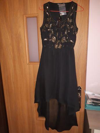 Sprzedam śliczną nową czarną sukienkę w cekiny