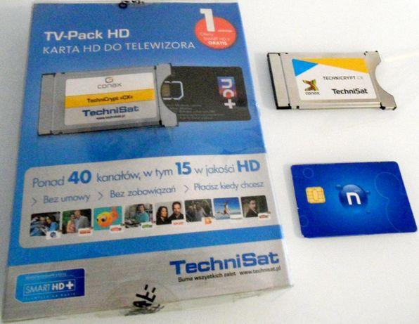 Moduł CI z Kartą NC+ Aktywna z ofertą Smart HD+ Telewizja Na Kartę