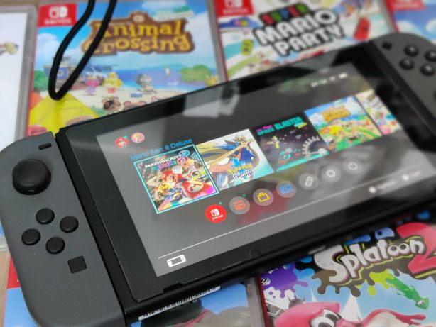 Duży Zestaw Nintendo Switch v2 Pro Controller Ring Gry Zelda Animal
