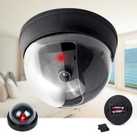 Муляж камеры видеонаблюдения,внутренняя купольная Видео камера,обманка