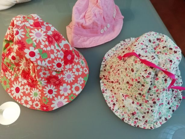 3 chapéus criança Chicco Petit Patapon Como novos!