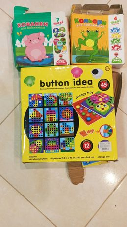 Розвивающие игры для малышей