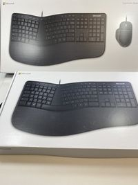 Klawiatura i Mysz Microsoft Ergonomic Desktop RJU-00013