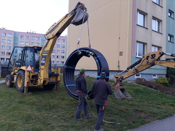 Budowa sieci i przyłączy wod.-kan.