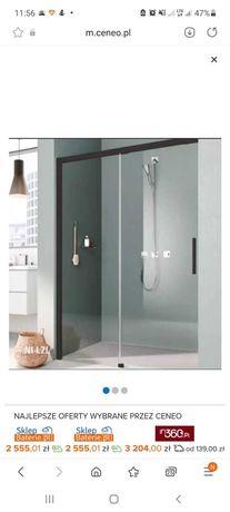 Drzwi prysznicowe Kermi Nica L2L, SZER.110cm. NOWE