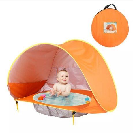 Tendas de praia com piscina para bebés