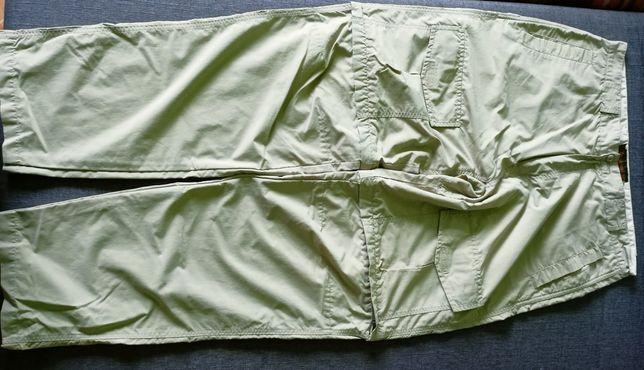 Oryginalne firmowe spodnie TIMBERLAND letnie z odpinanymi nogawkami L