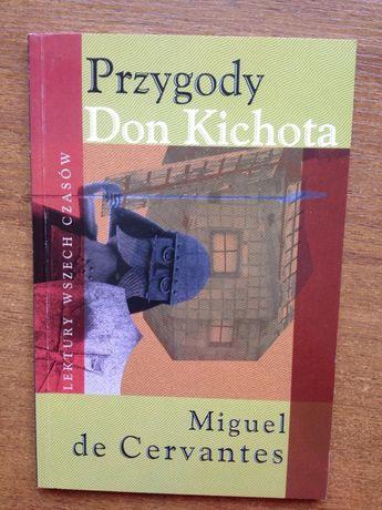 Książki Miguel de Cervantes y Saavedra Przygody Don Kichota