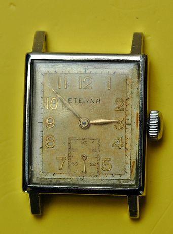 Zegarek Art Deco Eterna w stali na chodzie