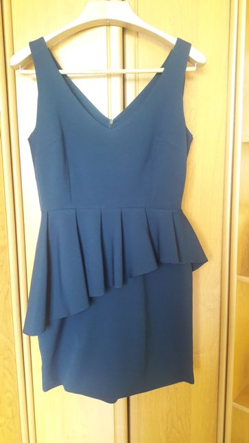 Granatowa sukienka na wesele rozmiar 38 Why not