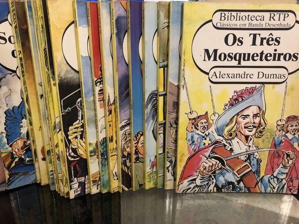 Clássicos em Banda desenhada - Biblioteca RTP