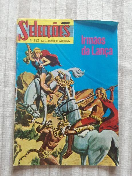 Livro Selecções - Irmãos da Lança 1982