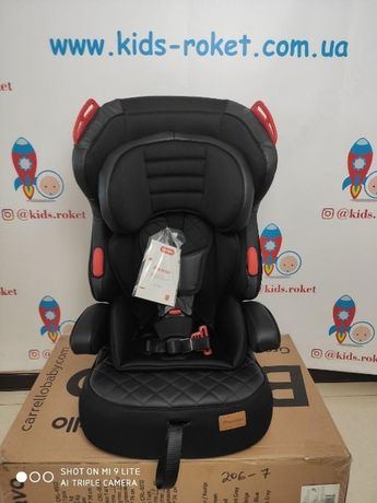 Детское автокресло Carrello Premier от 1 до 12 лет + бустер 2в1