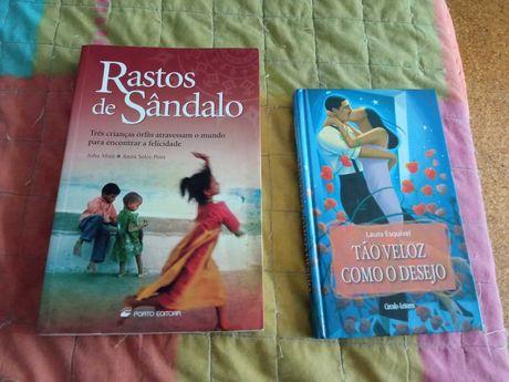 Pack de 2 livros de romance - Portes Incluídos