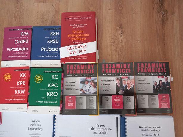 książki na egzamin radcowski/adwokacki