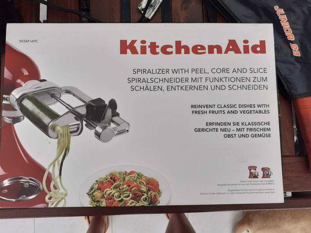 Acessório espiralizador para KitchenAid