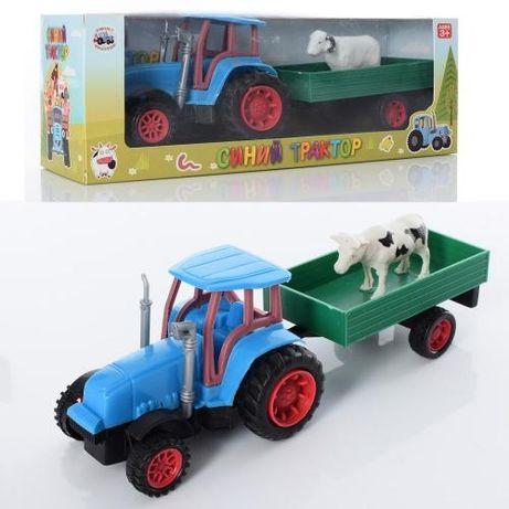 Синий трактор 30 см. Щенячий патруль Клевая рыбалка,, 2 в 1 игра