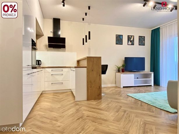 Urządzone mieszkanie w nowym bloku - blisko Pkp