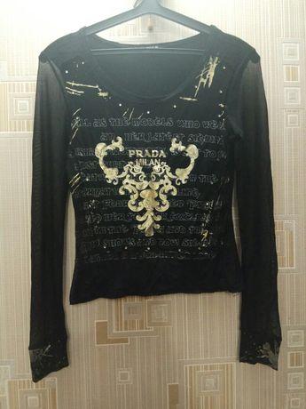 Кофта сетка, блуза