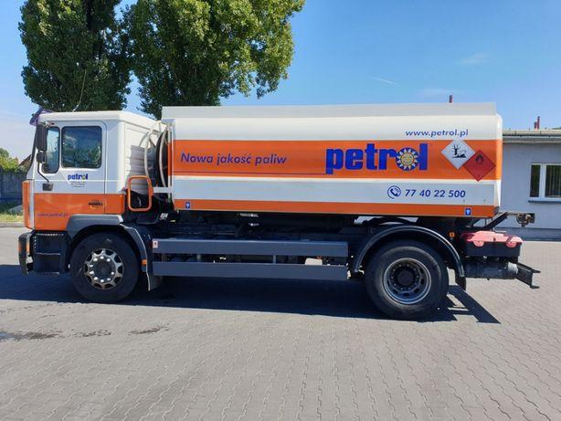 Autocysterna MAN / Esterer do dystrybucji paliw płynnych