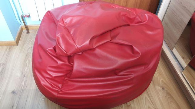 Fotel sako xxl sprzedam kolor czerwony.