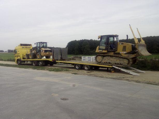 Transport maszyn rol. koparko-ładow. samochodów .pomoc drogowa