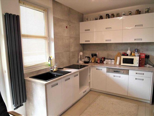 PIĘKNA Kuchnia zestaw mebli kuchennych AGD zmywarka, płyta, zlew, okap