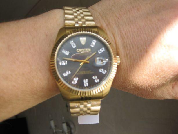 Часы CROTON Diamond -механика 100 м Не Seiko Orient Invicta Citizen