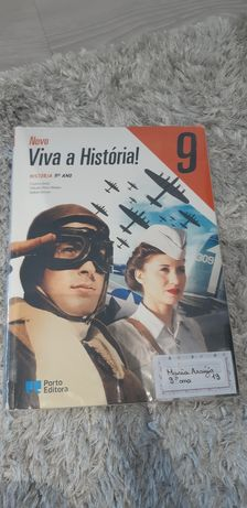 Viva a história- Manual e Caderno de Atividades- 9° ano