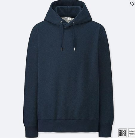 Uniqlo U Long-Sleeve Hooded SWEATSHIRT худи свитшот