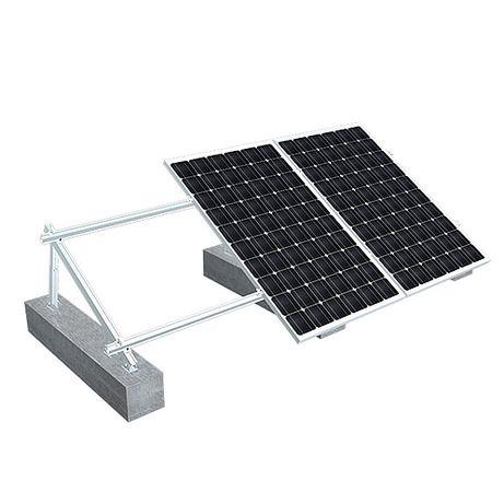Kit Estrutura Inclinada Aluminio para Paineis Solares
