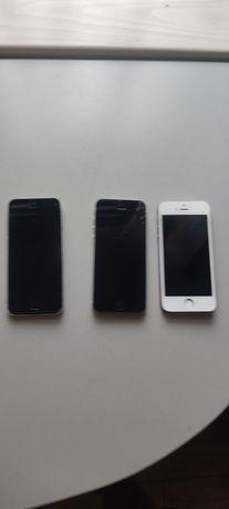 3x iPhone uszkodzony z przeznaczeniem na części