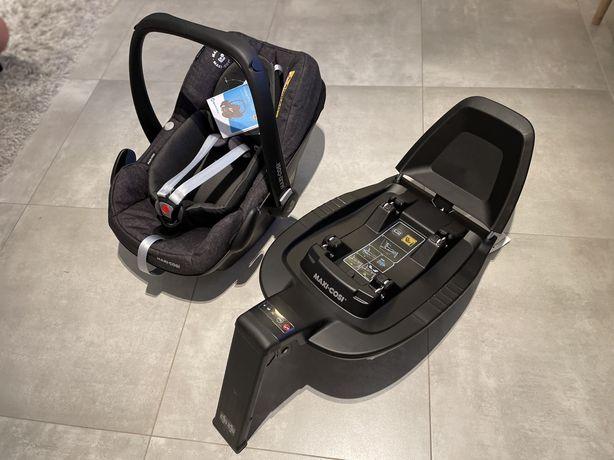 NOWY Fotelik samochodowy Maxi Cosi PEBBLE PRO i-SIZE+ baza Family Fix3