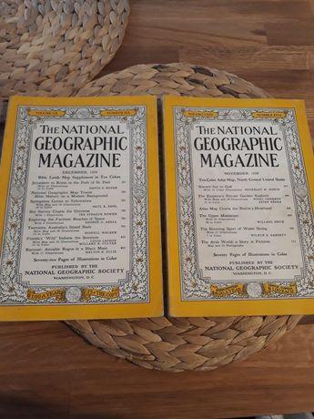 The National Geographic Magazine december 1956, november 1958