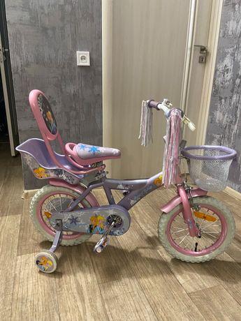 Детский велосипед Frozen