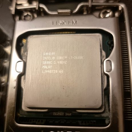 Processador Intel I7-2600k 3.40 Ghz