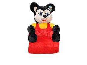 Fotel/pufa dla dzieci rozkładany/pluszowy BAJAMIX