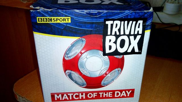 Спортивна вікторина / Спортивная викторина Trivia Box.Match of the Day