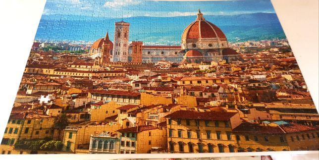 Puzzle 1000 Florencja Włochy