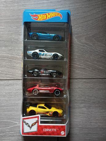 Hot wheels Corvette 5-pak autek kolekcjonerskie hotwheels