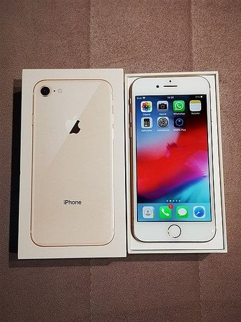 iphone 8*64GB*rose gold*różowe złoto*jak nowy*bez ryski z Media Markt