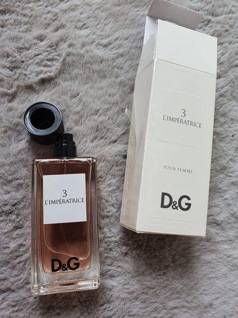 Świeże Orginalne Perfumy D&G 3 Orginalne