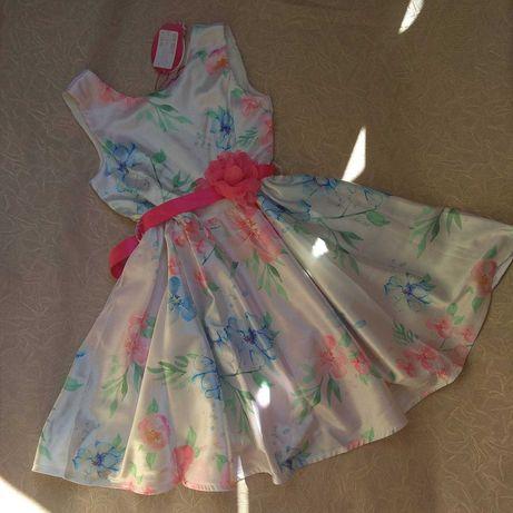 Платье плаття нарядное атласное