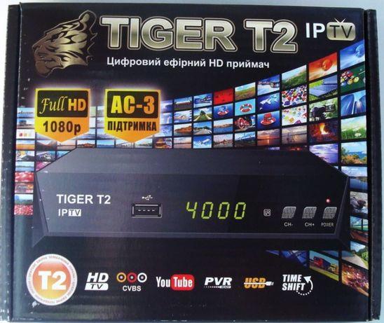 Ресивер TIGER T2 Модель 2021. 2USB, Youtube, Stalker, IPTV. Магазин.