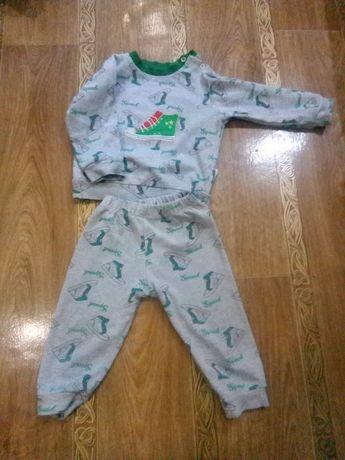 Пижама размер 86-92