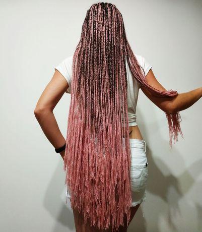 Афрокосички афро нарощення волосся зізі дреди локони тернопіль
