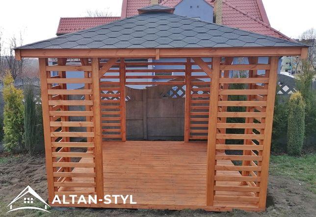 Altany,altanki, wiaty, altana ogrodowa ELIZA 3x3m PRODUCENT