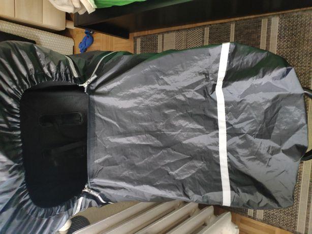 Pokrowiec ochraniacz przeciwdeszczowy TULSA duży, czarny